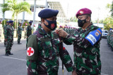 Lantamal VIII gelar latihan percepatan penanggulangan pandemi COVID-19