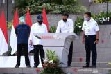 Presiden Joko Widodo resmikan penggunaan Rusun Pasar Rumput
