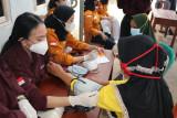 Mahasiswa Farmasi Itera edukasi PHBS dan pemanfaatan TOGA kepada warga Desa Marga Lestari