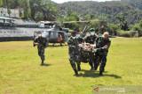 Satu prajurit TNI gugur saat amankan evakuasi jenazah nakes korban kekejaman KST