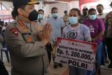 Waka Polri kunjungi Gerai Vaksinasi Presisi di Kota Jayapura