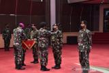 Panglima TNI memimpin sertijab Dankodiklat, Aster, Kapuskes, dan Kasetum