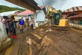Pantau lokasi bencana, DLR bantu warga terdampak banjir bandang di Minahasa Tenggara
