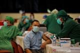 Penerima vaksin COVID-19 dosis pertama di DIY mencapai 75,19 persen