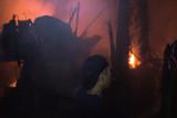 Belasan rumah di Kota Makassar ludes terbakar