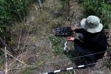 Petugas Balai Pelestarian Cagar Budaya (BPCB) Jawa Timur melakukan survei di area temuan Objek Diduga Cagar Budaya (ODCB) berupa struktur bata kuno di areal persawahan di Kelurahan Karangtengah Kecamatan Sananwetan, Kota Blitar, Jawa Timur, Selasa (21/9/2021). Dari hasil analisis awal terhadap obyek baik melalui dokumentasi, identifikasi, dan interprestasi, Tim BPCB Jatim memperkirakan ada kegiatan aktivitas keagamaan pada masa lalu di lokasi. Antara Jatim/Irfan Anshori/zk