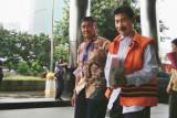Mantan Bupati Solok Selatan Muzni Zakaria dieksekusi ke Sukamiskin