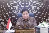 Airlangga: Tingkat penularan COVID-19 rendah, pandemi di Indonesia mulai terkendali