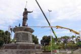 Patung Bung Karno sudah terpasang di RTH Sukasada,Bali