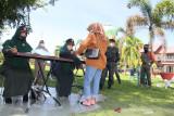 Polisi syariat Wilayatul Hisbah jaring puluhan warga berbusana ketat di Aceh Barat