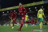 Minamino, Origi antar Liverpool lewati Norwich 3-0 di Piala Liga