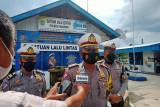 Nihil tilang, pada pelaksanaan Operasi Patuh Singgalang 2021 hari kedua di Pasaman