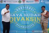 BPJAMSOSTEK Palangka Raya-BEM Nusantara bersinergi gelar vaksinasi massal