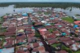 Banjir Meluas Di Kota Palangka Raya