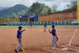 PON Papua- Sofbol putra Lampung vs Sulteng awali pertandingan PON XX