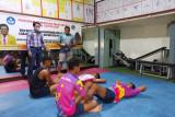 FPTI Sulsel lepas tim panjat tebing menuju arena PON Papua
