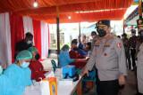 Polri percepat vaksinasi di Mimika menjelang PON XX Papua