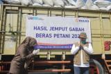 Perum Bulog serap satu juta ton beras petani