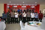 Vaksinasi Merdeka Serentak Sinergitas Polri bersama Mahasiswa , BEM dan OKP di Tarakan