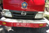 Motor tabrakan dengan mobil damkar di Janapria