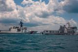 Kapal penjaga pantai AS ikut latihan bersama Bakamla RI
