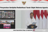 Presiden Jokowi tegaskan komitmen untuk  berantas mafia tanah