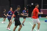 Timnas bulu tangkis Indonesia  jalani latihan perdana di Finlandia