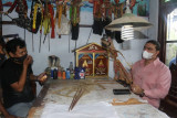 Dekranasda Pekalongan siap fasilitasi pemasaran kerajinan wayang kulit