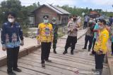 Jembatan Sei Rawi II di Kabupaten Gumas kembali fungsional