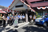 Bupati Kapuas kembali melepas penyaluran bantuan banjir di Kalteng