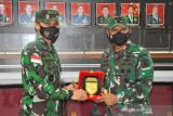 Pangdam XVII/Cenderawasih terima kunjungan kerja Pangdam VI/Mulawarman