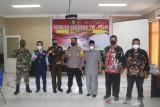 Sekda Siak tinjau Serbuan Vaksinasi TNI-Polri di RSUD Tengku Rafian