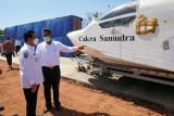 Gubernur Kepri resmikan pembangunan gudang kapal Hoverwing