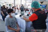 Sukseskan vaksinasi, Polres Agam jemput bola ke sasaran