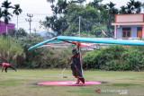 Di kategori ini pada cabang olahraga Gantole PON Papua, atlet Sumbar unggul