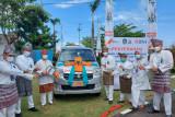 BNI serahkan satu unit mobil transfusi darah di momentum HUT Kepri, gubernur apresiasi