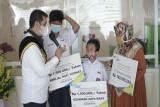 BPJAMSOSTEK Semarang Majapahit lakukan beragam kegiatan di Harpelnas 2021
