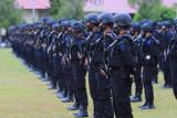 Polda Kalteng kirim dua kompi pasukan Brimob amankan PON Papua