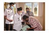 Pakai uang pribadi, Bupati Mesuji bantu lunasi biaya rumah sakit warga