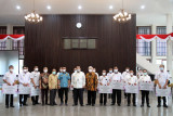 Pemkab Lampung Selatan dapat bantuan 300 kotak alat rapid test antigen