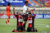 Liga 1 Indonesia : Persipura cetak kemenangan perdana usai kalahkan Persiraja