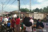 Terbakar untuk kedua kalinya tahun ini, sembilan kios di Pasar Kambang hangus