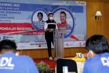 Kampanyekan aman berkendara bagi awak mobil perusahaan, KPI Unit Cilacap hadirkan Rifat Sungkar