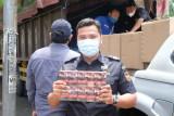 Bea Cukai Kudus ungkap 1,2 juta batang rokok ilegal diangkut  truk