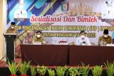 Bupati Pringsewu buka sosialisasi dan bimtek SPIP Integrated Kabupaten Pringsewu tahun 2021