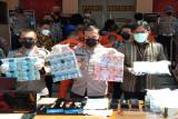 Sembilan pembuat dan pengedar uang palsu ditahan di Polres Boyolali