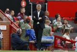 Solskjaer mengeluh, sebut pemain Villa ganggu Bruno Fernandes