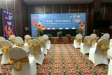KONI puji fasilitas Media Center Kominfo kabupaten  Jayapura