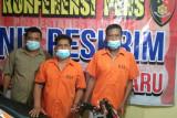 Polisi ringkus dua pelaku perampokan sepeda motor di Medan