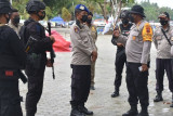 Kapolresta Jayapura cek kesiapan anggota di arena PON XX Papua